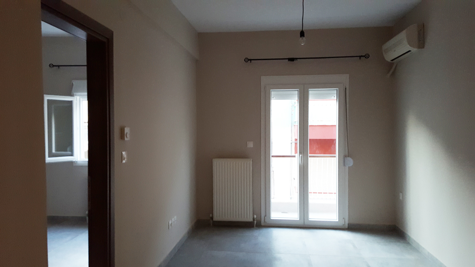 Άποψη από το διαμέρισμα στην Θεσσαλονίκη
